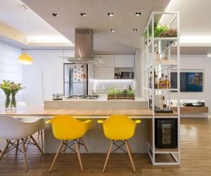 Apartamento Trama: Fun and Fashionable Urban Hub in Brasilia