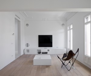 Apartment H Transformation by Wespi de Meuron