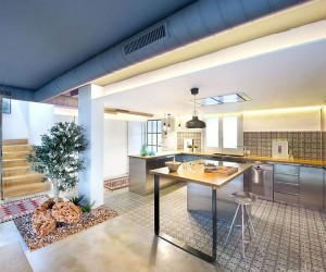 Apartment in Benicssim: Relaxed Beach Life Wrapped in Industrial Flair