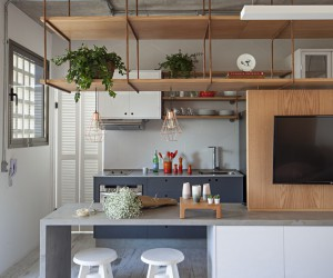 Apartment in Brazil with a Scandinavian Feel