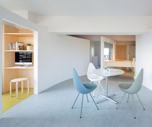 Apartment in Sagami-ohno by MAMM Design