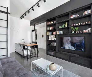 Apartment of Only 44 meters has been Strategically Designed to Provide Comfort and Ease of Living