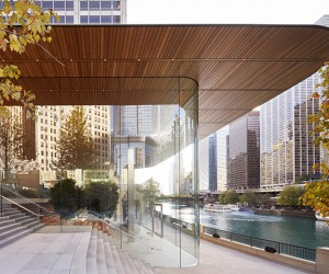 Apple Michigan Avenue Opens On Chicagos Riverfront