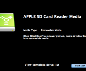 Apple SD Card Recovery