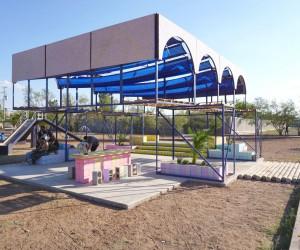 Arachi Pavilion by Enorme Studio
