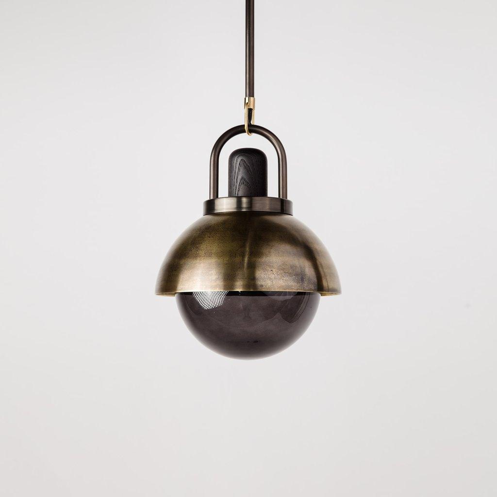 arc dome pendant by allied maker. Black Bedroom Furniture Sets. Home Design Ideas