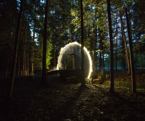 Arc Zero by James Tapscott at Japan Alps Art Festival