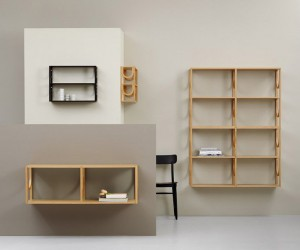Arch-Inspired Shelving System by Note Design Studio