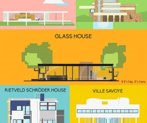 Architectural Icons Get Animated From Ground Up
