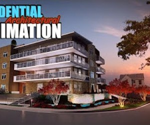Architectural Interior Virtual Walkthrough Animation in Canada