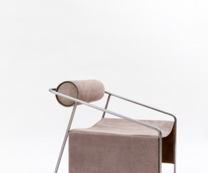Arctic Smoke Chair by Light and Ladder