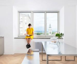 Arhitektura DOO Renovates Flat in Ljubljana
