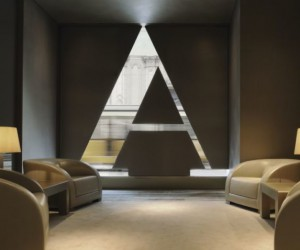 Armani Hotel in Milan, Italy near the Piazza del Duomo