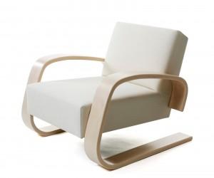 Armchair 400 Tank Chair by Alvar Aalto for Artek