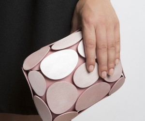 Armure 3D Printed Clutch by Odo Fioravanti