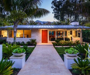 Artfully Redesigned Mid-Century Beach Villa in Montecito
