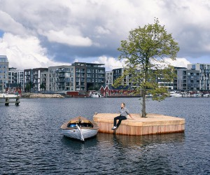 Artificial Islands Create New Floating Public Space In Copenhagen