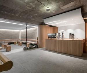 Artisan Cafeteria Designed Underground