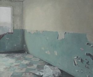 Paintings of Uninhabited Urban Spaces by Joseba Sanchez Zabaleta
