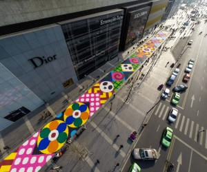 Artists Cover A Chinese Street With 13 Tons Of Candy