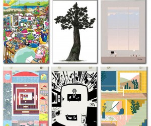 Artists Illustrate What Kind of Place Are You for Herman Miller