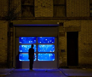 Artists Transform Abandoned Building into Jellyfish Tank