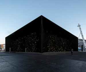 Asif Khan Creates The Darkest Building On Earth