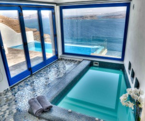 Astarte Suite with private infinity Pool in Santorini