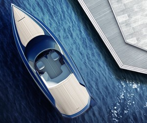 Aston Martin unveils the AM37 powerboat