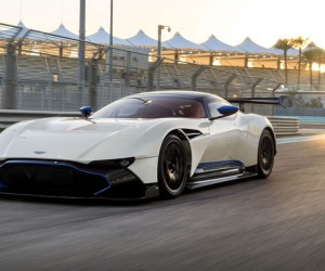 Aston Martin Vulcan Hits The Track