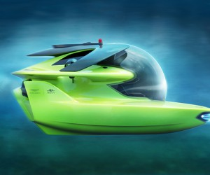 Aston Martins Submersible Goes Into Production