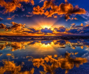 Astonishing Sunsets and Sunrises From Southeast Queensland by Ben Mulder