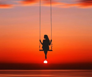 Astounding Silhouettes Portrait Photography by Ahmed Nishaath