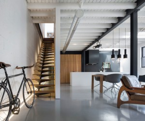 Atelier Moderno turns a Montral former workshop into a home