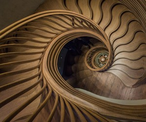 Atmos Studio Creates StairStalk Staircase For Hide Restaurant In London