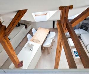 Attic Apartment by Superpozycja Architekci