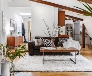 Attic Apartment in Stockholm