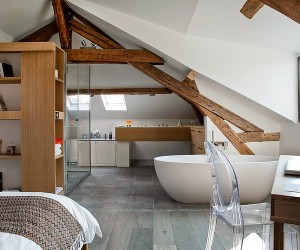 Attic by Olivier Chabaud Architecte
