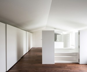 Attic-loft Renovation by Arrigo Strina