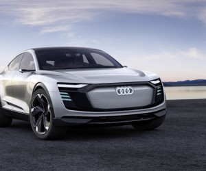 Audi e-tron Sportback Concept Car