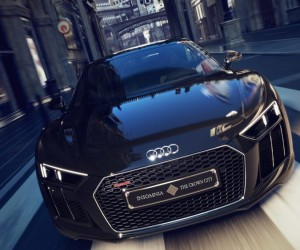 Audi Japan Has Created a One-of-a-Kind Final Fantasy XV-Themed R8