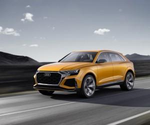 Audi Unveils Q8 Sport Concept in Geneva