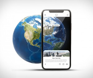 Augmented Reality Earth Model