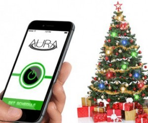 Aura: Wirelessly Powered Christmas Lights