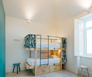 Aurora Arquitectos Designs Get Inn Hostel In Parede
