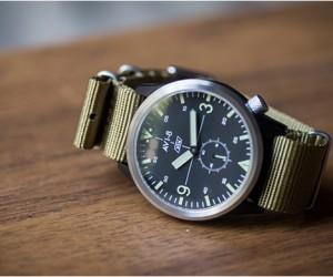 AVI-8 Worn  Wound Watch