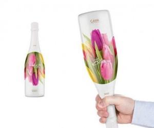 Award Winning Packaging for Cava Blossom Brut