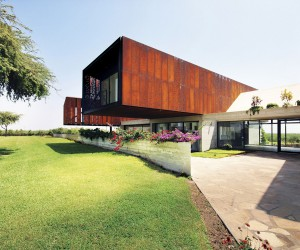 Awesome Cor-Ten Steel Clad Homes Weather All Styles and Storms