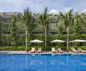 Babylon Hotel Building at Naman Retreat Resort, Vietnam