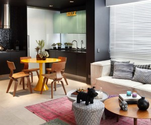 Bachelor Apartment by Studio RoCa
